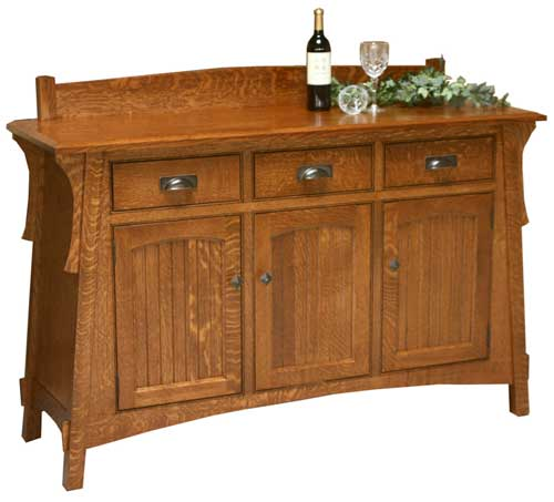 Illinois amish furniture hutches buffets and sideboards