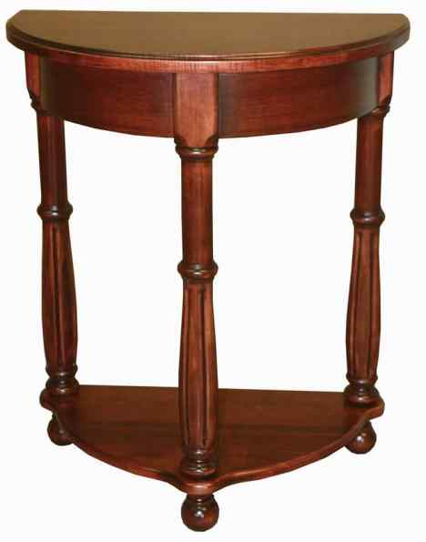 HW_Amish-Occ-Table_Ridgewood-Half-Round-Table : Coffee, Sofa and End Tables : Illinois Amish ...