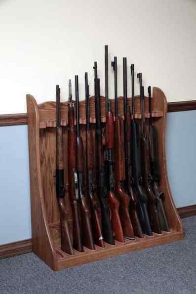 rack | Gun Cabinetry Long gun, pistol, wall mount or floor standing ...