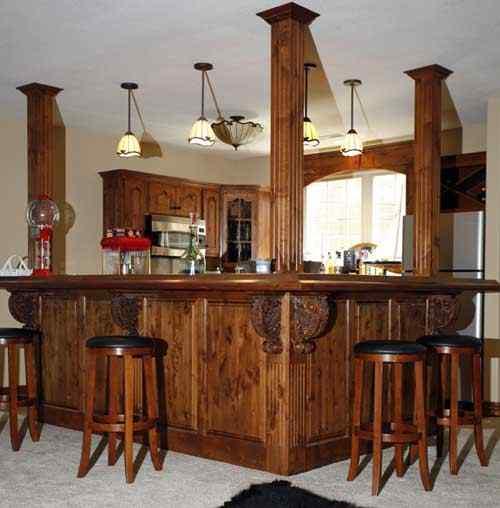 Custom Bar Gun Cabinetry Long Gun Pistol Wall Mount Or Floor Standing Illinois Amish Crafted Furniture Illinois Amish Furniture Arthur Illinois